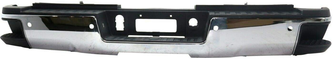 Neutron Finally popular brand Step Bumper 55% OFF Rear Face Bar with Chrome HD 2500 Compatible