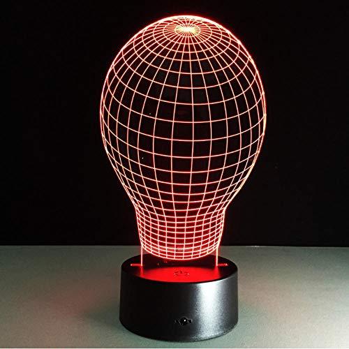 3D LED illusie lamp nachtlicht ballon vorm 3D LED-lamp hoge kwaliteit USB tafellamp LED bureau nachtlamp kerstcadeau decoratie
