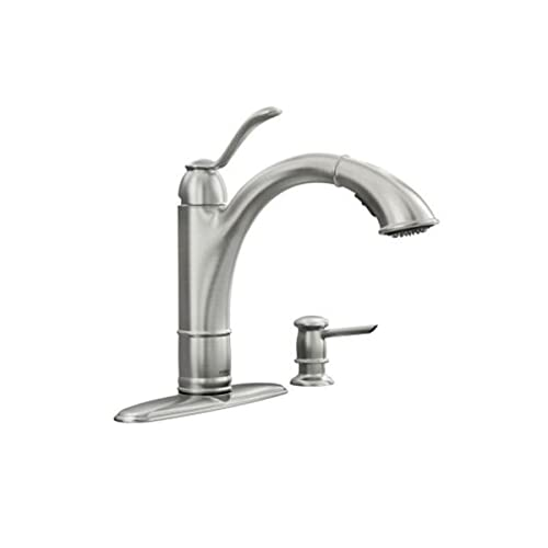 Moen Single Handle Kitchen Faucets: Amazon.com