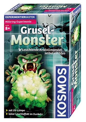 Kosmos 657369 - Grusel-Monster, leuchtende Kristall-Monster selbst züchten, Experimentierset für Kinder ab 8 Jahre