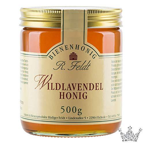 Wildlavendel Honig, aromatisch-blumiges Aroma, cremig, 500g