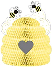 Creative Converting Bumblebee Baby Centrepiece, 9-Inch x 11-Inch Size, Multicolour