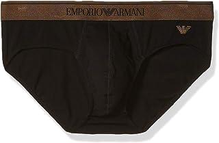 Emporio Armani Men's Shiny Logoband Brief Underwear