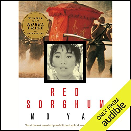Red Sorghum audiobook cover art