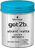 Schwarzkopf Got2b Strand Matte, 6er Pack (6 x 100 ml)