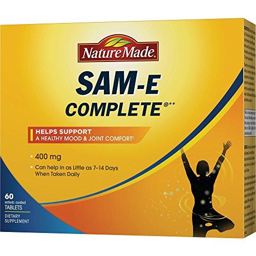 Natural Made SAM-e Completo 400 mg - 60 comprimidos revestidos de ambiente