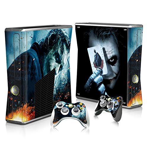 Skin Sticker Decals For Xbox 360 Slim Console And Controller Skins Stickers For Xbox360 Slim Vinyl - Dc The Joker