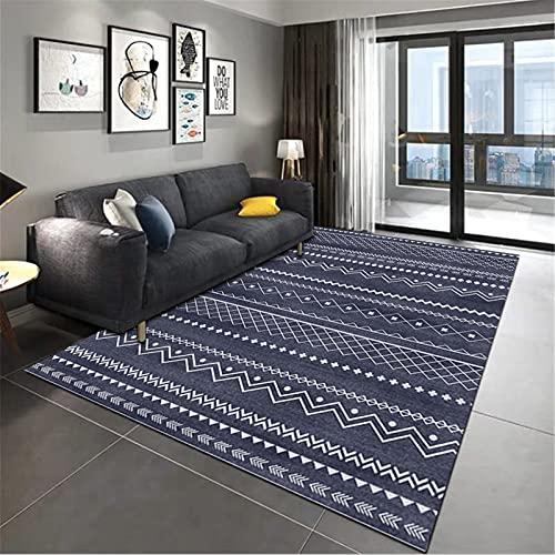 Manta De Cabecera De Dormitorio De Alfombra Rectangular Grande Suave Y Simple De Estilo Marroquí para El Hogar 120x160cm
