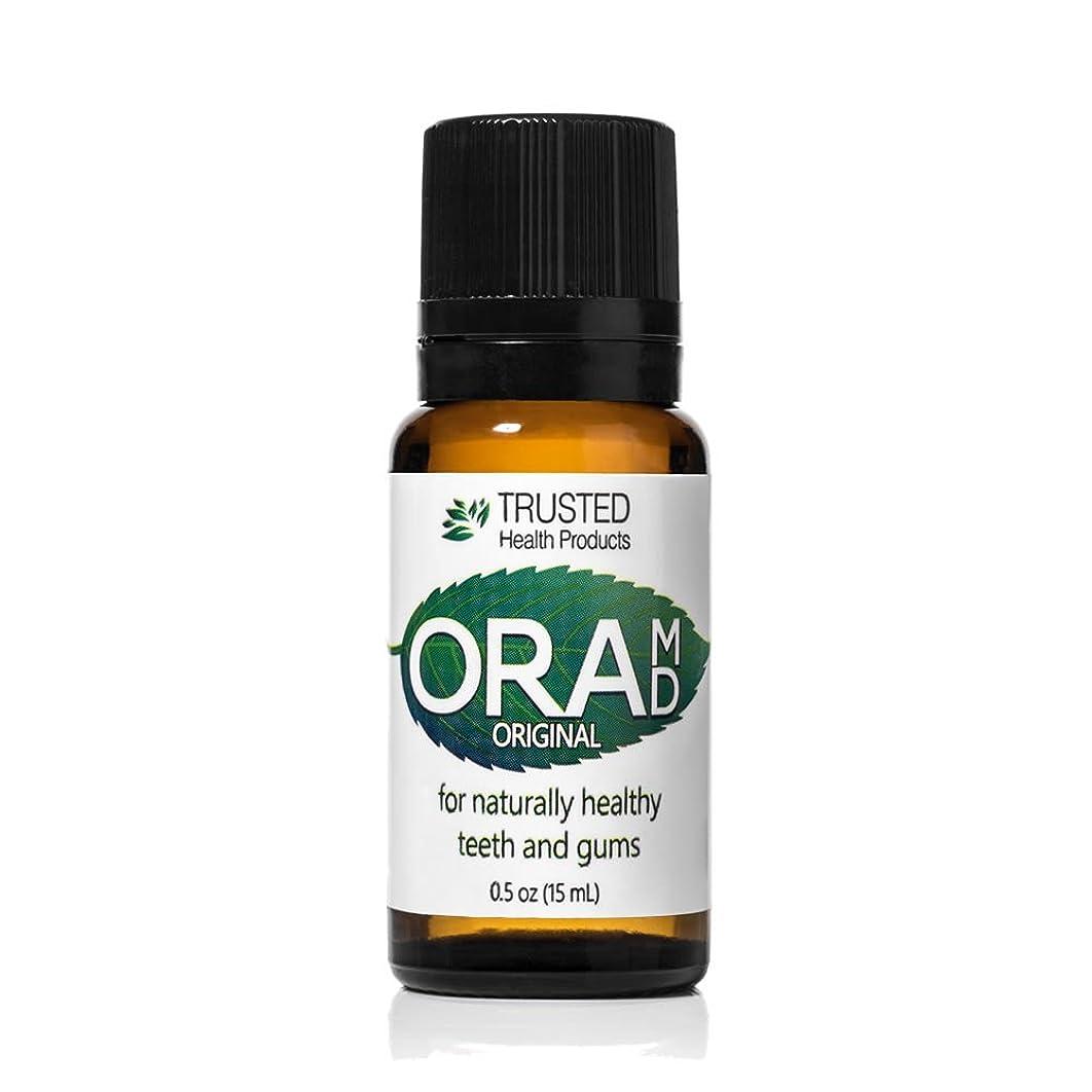 OraMD Original – Fluoride Free Toothpaste – Toothpaste and Mouthwash Alternative – 100% Pure Essential Oils - SLS Free Toothpaste – Triclosan Free Toothpaste