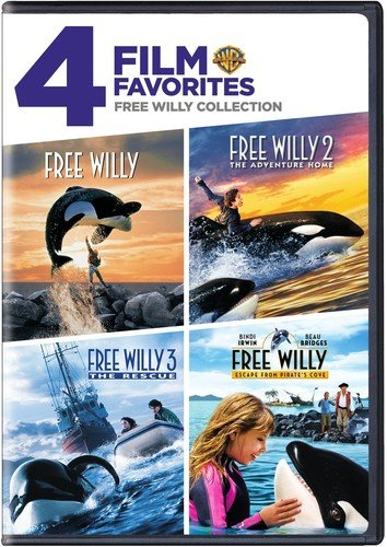 4 Film Favorites: Free Willy Collection (Free Willy / Free Willy 2: The Adventure Home / Free Willy 3: The Rescue / Free Willy 4) [DVD] [US Import]