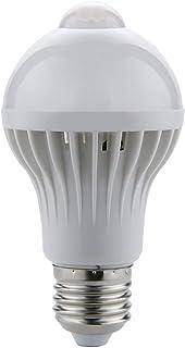 Ba30DEllylelly Lámpara LED con sensor de movimiento PIR 220 V bombilla LED Auto inteligente inteligente PIR infrarrojos Sensor de movimiento del cuerpo luz E27 enchufe