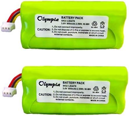 2 Pack Replacement Motorola Symbol LS4278 Battery Rechargeable Battery for Motorola Symbol LS4278 product image