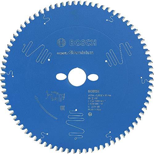 BOSCH 2608644112 - Disco de sierra circular CSB Expert Aluminium: 254x30x2.8/2x80D