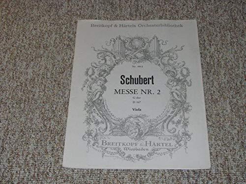 Schubert Messe Nr. 2 G-Dur D 167 Viola