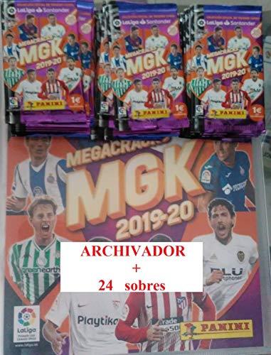 MGK Archivador + 24 Sobres Megacracks LaLIGA 2019 2020