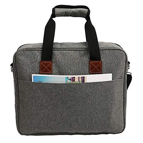 Bolsa de bordado, duradera, portátil, kit de proyectos de bordado, bolsa de almacenamiento