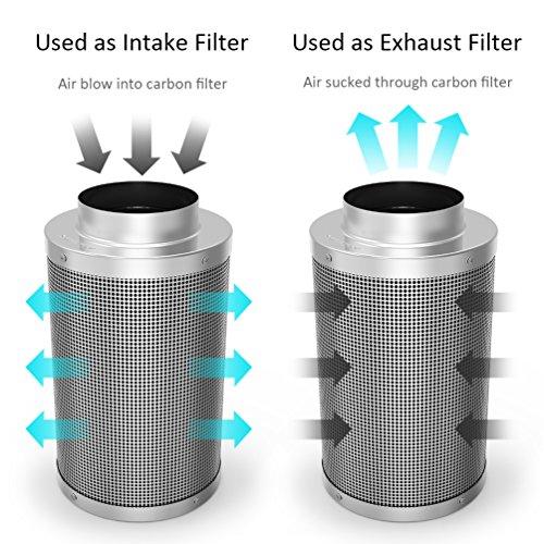 Growneer 6 Inch Carbon Filter