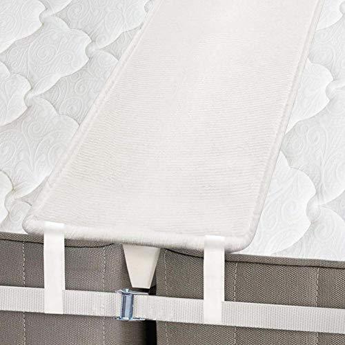 Kit Convertitore Twin Bed Bridge - Prolunga Per Materasso Impostata Per Colmare Il Divario - Riempimento Di Riempimento In Memory Foam E Cinghia Del Connettore - Per Camera Per Ospiti E Famiglie