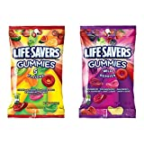Gummy Candies that are hole lot of fun Great for lunches, snacks or share with friends package includes 2 - 7 ounces of Life Savers Gummies: 5 Flavors and Wild Berries