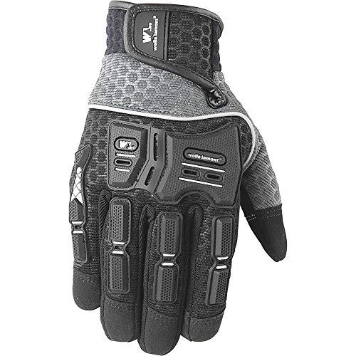 Men's Impact Protection Hi-Dexterity Utility Grip Gloves, Large (Wells Lamont 7682L)