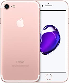Apple iPhone 7 with FaceTime - 128GB, 4G LTE, Rose Gold - Certified Pre Owned (190198408044)