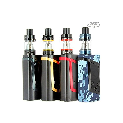 SMOK Alien Kit 220W TC y TFV8 Baby Kit, camuflaje verde, para la celda 2 x 18650 batería - ni nicotina, ni tabaco