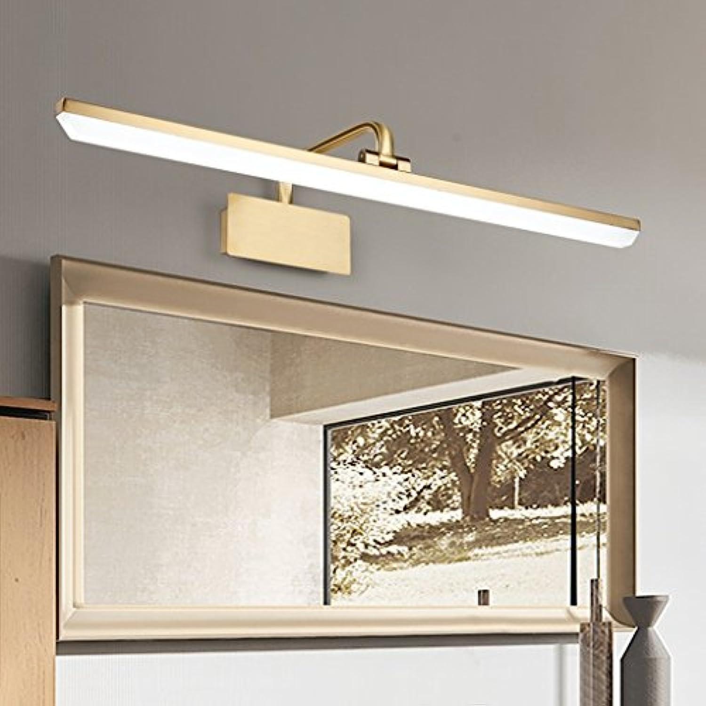 Vordere Scheinwerfer LMirror Badezimmer Spiegelschrank Licht Kommode Make-up Light Einfache und moderne Energiesparlampen (Farbe  Weies Licht -40 cm 9 W)