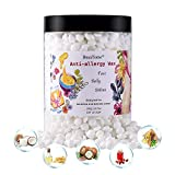 Resin Free Anti-irritation Natural Material Hard Wax Beans Painless for Senstitive and Delicate Areas Low Application Temperature Face, Belly, Bikini, Brazilian Waxing Skin Care for Private Parts