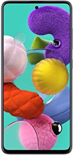 Samsung Galaxy A51 Dual SIM - 128GB, 6GB RAM, 4G LTE, Prism Crush Black