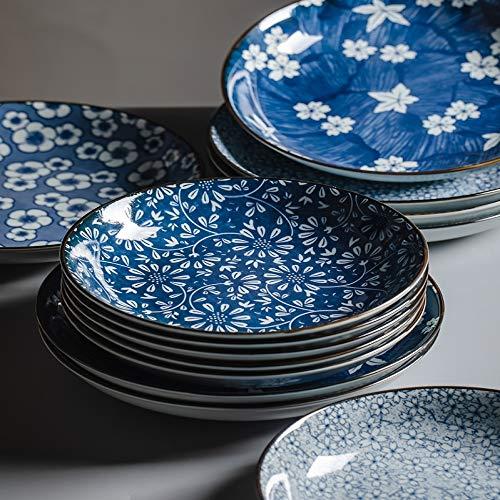 XQJDD Vajilla de cerámica