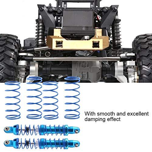 Dilwe RC Auto Stoßdämpfer, Einstellbar Metall Stoßdämpfer Dämpfer für SCX10 TRX-4 D90 1/10 RC Crawler Auto(90 mm / 3,54 Zoll)