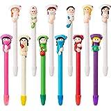 12 Piezas Bolígrafo de Médico y Enfermera Bolígrafo de Dibujos Animados Adorables Regalos de Enfermera Divertidos para Esposa Hija Niña