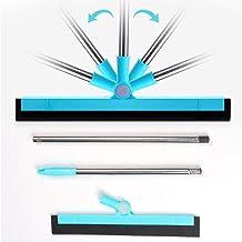 Floor Squeegee Magic Window Wiper Scraper 180 Degrees Rotatable Hand Push Mop Sweeper Broom Household Floor Windows Cleani...