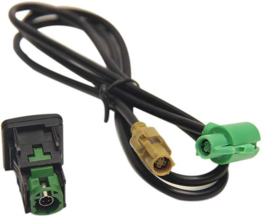 LOOYUAN RNS315 RCD510 USB Switch Cable VW 6 MK6 Houston Mall Golf SCIRO Max 53% OFF For
