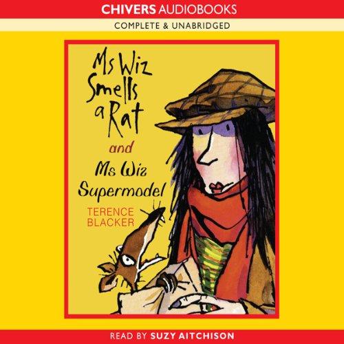 Mrs Wiz Smells a Rat & Ms Wiz Supermodel audiobook cover art