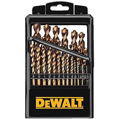 DEWALT Titanium Drill Bit Set with Pilot Point, 29-Piece (DW1369)