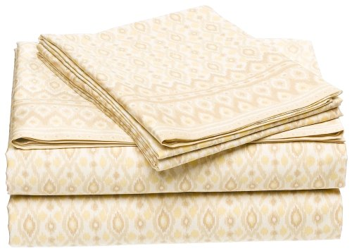 Michael Kors Bali 300-Thread-Count Cotton Sateen Queen Flat Sheet