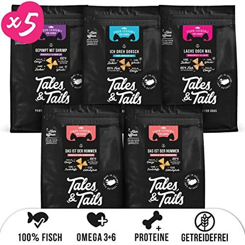 Tales & Tails® Trainingspaket kleine Leckerli, 5 x 70g - Verschiedene Sorten