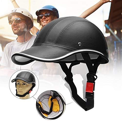 SANKANG Unisex Medio Casco de protección del Casco de la Motocicleta/de la...