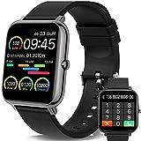 Smartwatch, Orologio Fitness Uomo Donna,Smart Watch con Contapassi Saturimetro (SpO2) Misuratore Pressione/Sonno Cardiofrequenzimetro da Polso, Fitness Tracker Sport Impermeabile IP67 per Android iOS