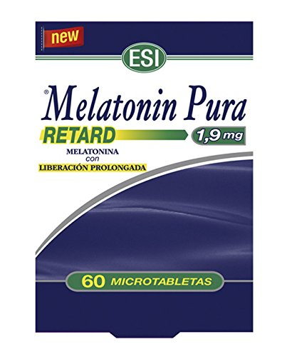 MELATONIN RETARD PURA 1,9 MG 60 TABLETAS
