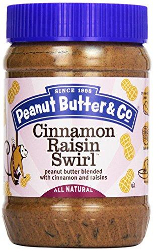Peanut Butter & Co Cinnamon Raisin Swirl Peanut Butter, 16 oz