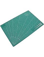 PVC A3 Self Healing - Alfombrilla de corte de cuero para manualidades, herramientas de doble cara
