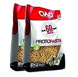 Ciao Carb - Arroz proteico, pasta proteica, 2 paquetes (2 x 500 g), alto contenido de proteínas (60%) Titolo