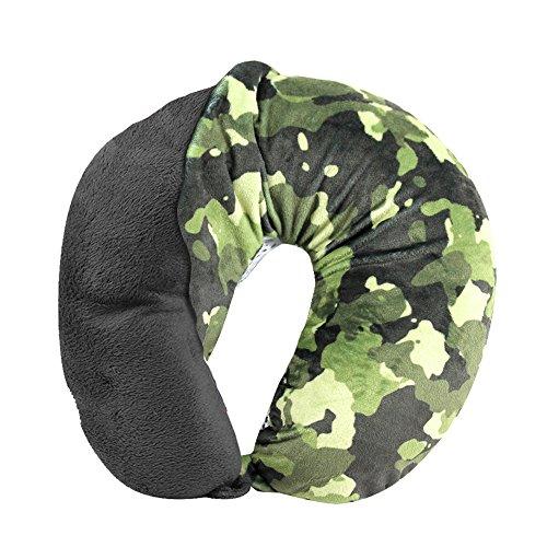 Cloudz Washable Travel Neck Pillow Cover - Camouflage