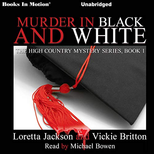 Murder In Black and White audiobook cover art