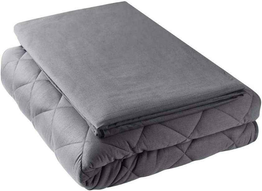 Blankets & Throws Bedding 48x72, 12lbs 100% Cotton Material with ...