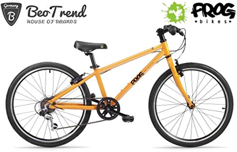 FROG bikes 62 24Zoll Alu 9.8kg 2x2Reifen Orange