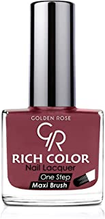 Rich Color Nail Lacquer By Golden Rose, Color Red No105, Cnvs-S2-0161