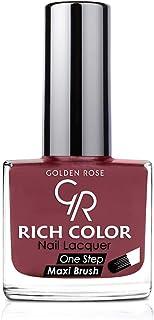 طلاء اظافر من جولدن روز , اللون الخمري رقم 105